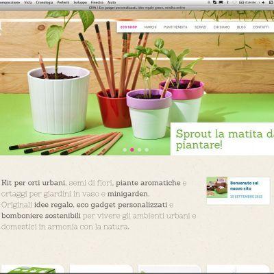 nuovo sito web e-commerce