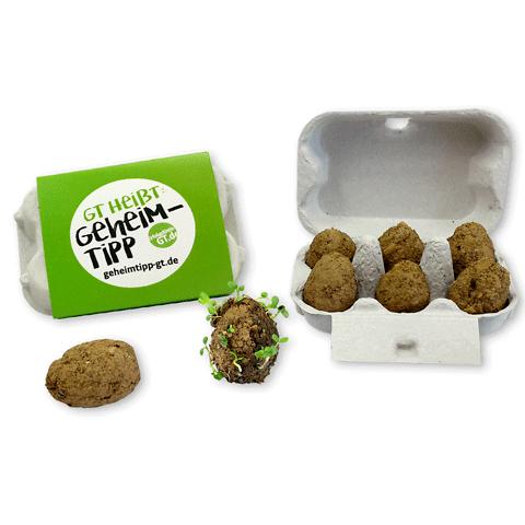 Seedegg • Uova da piantare con pack personalizzato