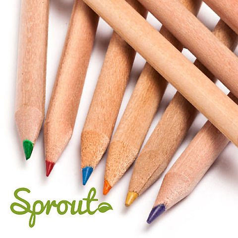Sprout Color, 8 matite colorate